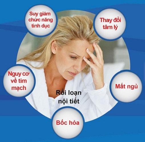 Tác hại của rối loạn nội tiết tố nữ