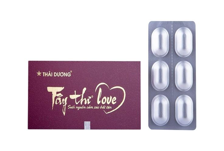 Thuốc điều trị rối loạn nội tiết tố nữ Tây Thi Love