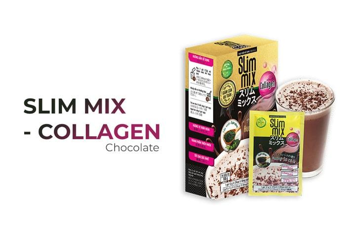 Bột giảm béo bụng Slim Mix