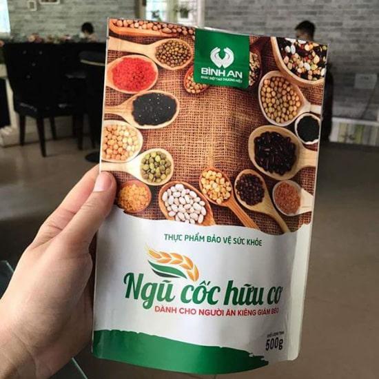 Bột ngũ cốc giảm cân Linh Spa