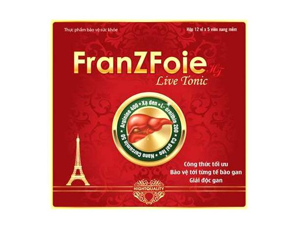 Thuốc bổ gan FRANZFOIE