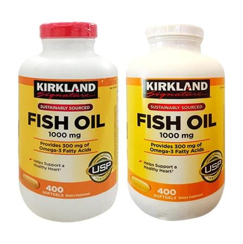 Thuốc bổ mắt Kirkland Fish Oil Omega 3