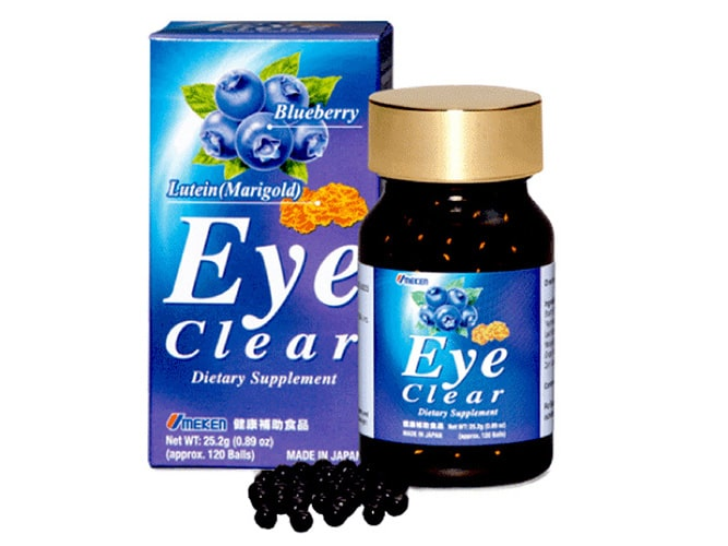 Thuốc bổ mắt cận thị Eye clear