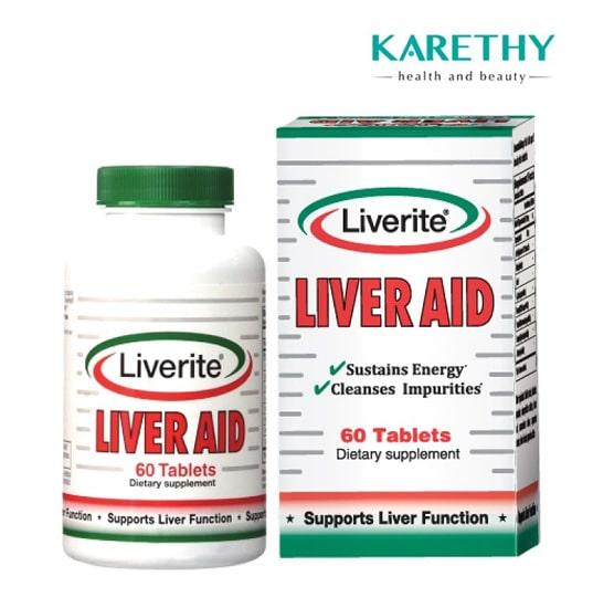 Thuốc giải độc gan Liverite Liver Aid