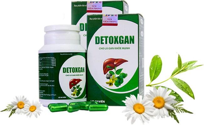 Thuốc giải độc gan Detoxgan