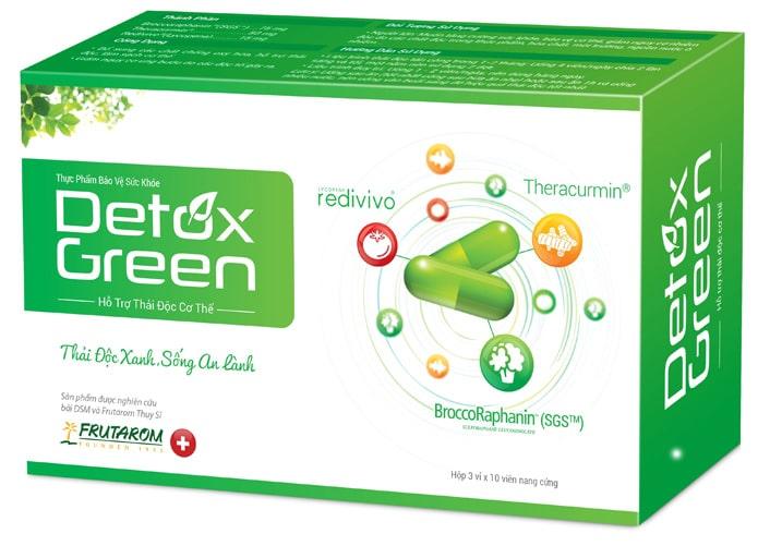 Thuốc giải độc tố gan Detox Green