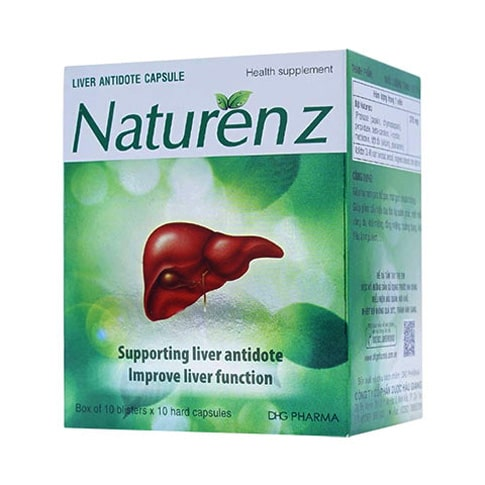 Thuốc hạ men gan Natuzenz