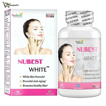 Thuốc uống trắng da Nubest White