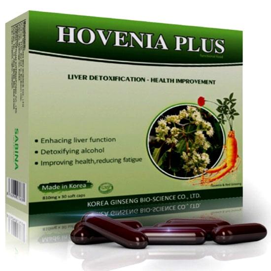 Viên uống giải độc gan Hovenia Plus