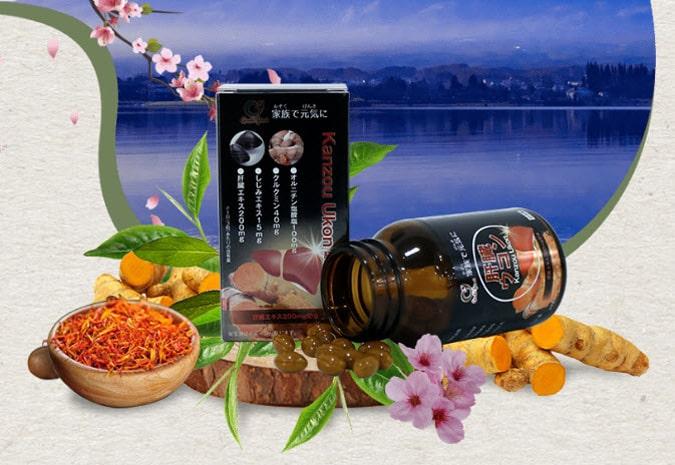 Viên uống giải độc gan Kanzo Ukon