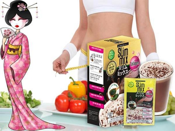 Review thuốc giảm cân Slim Mix