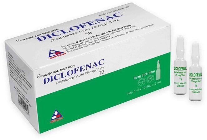 Thuốc đau bụng kinh Diclofenac