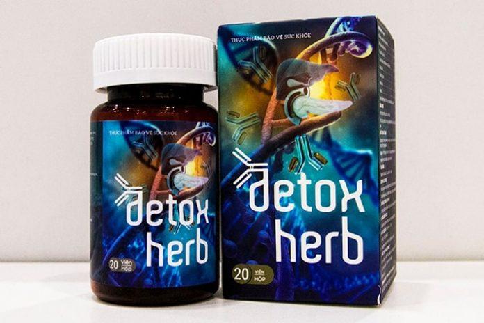 Thuốc diệt ký sinh trùng Detox Herb