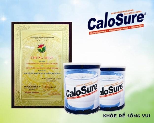 Sữa tăng cân cho nam giới Calosure