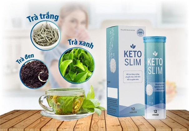 Thành phần Keto Slim giảm cân