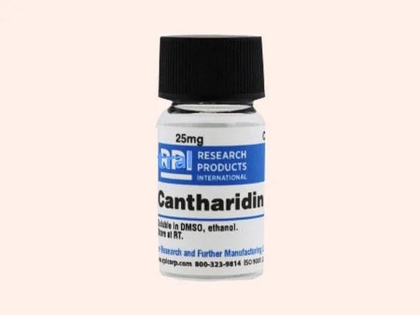 Thuốc đặc trị mụn cóc Cantharidin