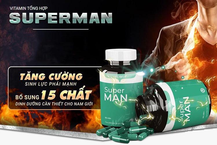 Superman tăng sinh lực phái mạnh