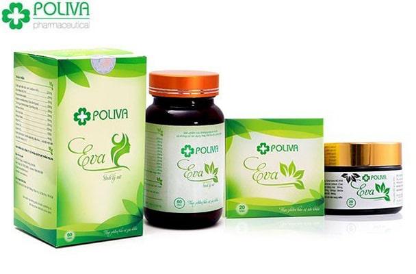 Thuốc tăng cường sinh lý nữ Poliva Eva