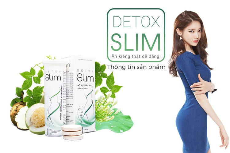 Viên giảm cân Detox Slim