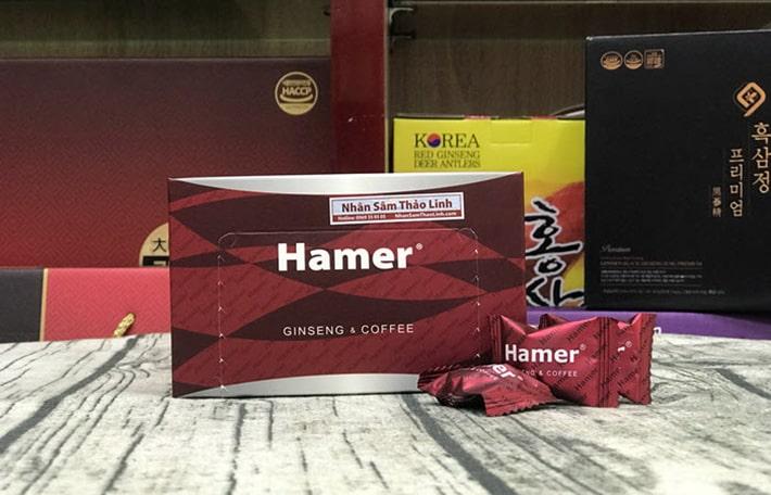 Kẹo sâm Hamer bán ở đâu