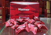 Kẹo sâm Hamer chính hãng