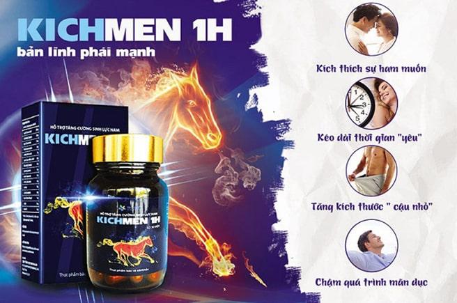Công dụng Kichmen 1h