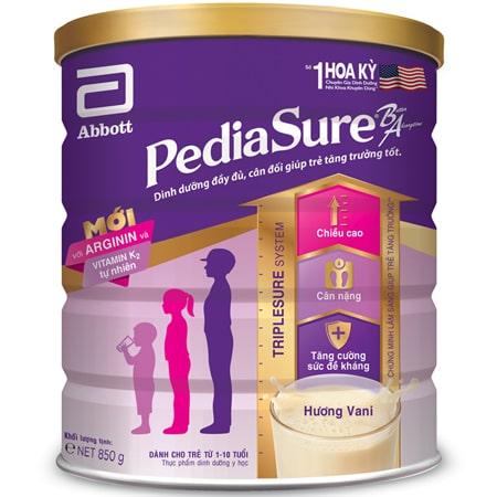 Sữa tăng cân cho bé Pediasure BA