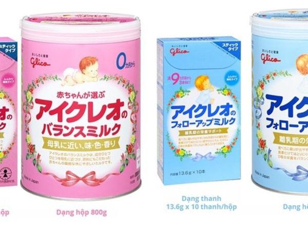 Sữa tăng cân Glico cho bé