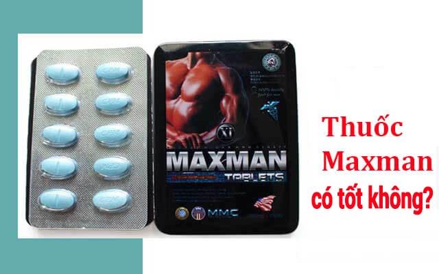 Review Maxman usa có hiệu quả không?
