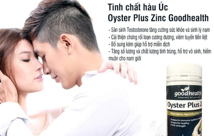 Công dụng của Oyster Plus