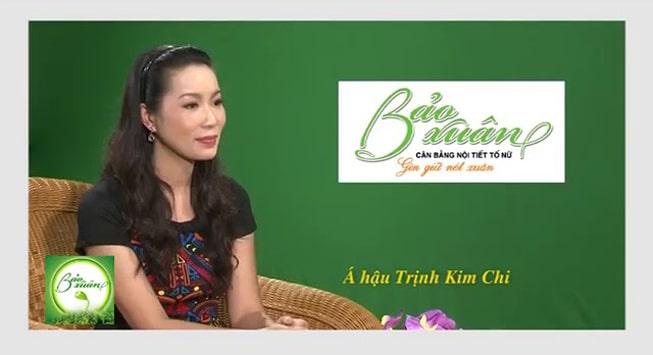 Trịnh Kim Chi đánh giá viên uống Bảo Xuân
