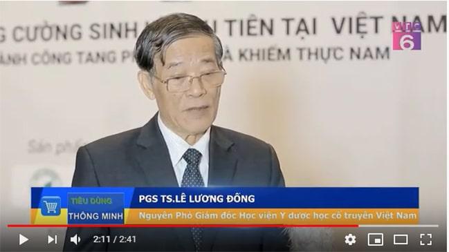 PGS-TS Lê Lương Đống đánh giá viên sủi Zextor