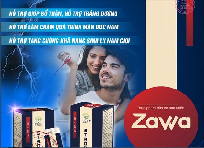 Công dụng của nước tăng cường sinh lý Zawa