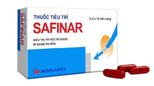 Thuốc trị bệnh trĩ Safinar