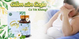 Viên giảm cân thảo dược Goga