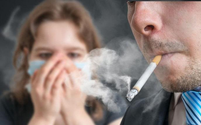 Tác hại hút thuốc lá thụ động