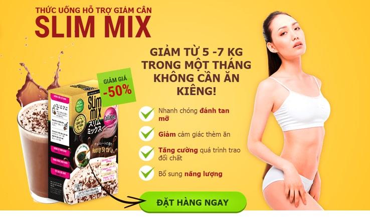 Công dụng thuốc giảm cân Slim Mix