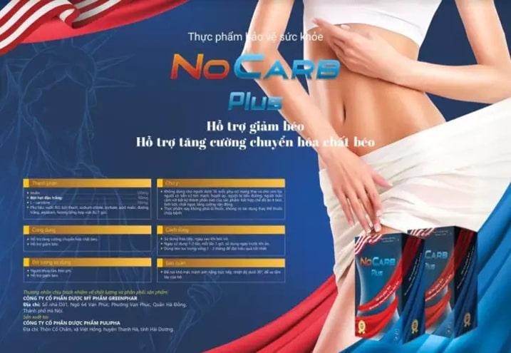 Thạch giảm cân No Carb Plus có tác dụng phụ không