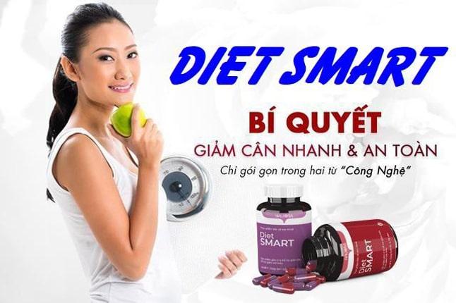 Công dụng của thuốc giảm cân Diet Smart