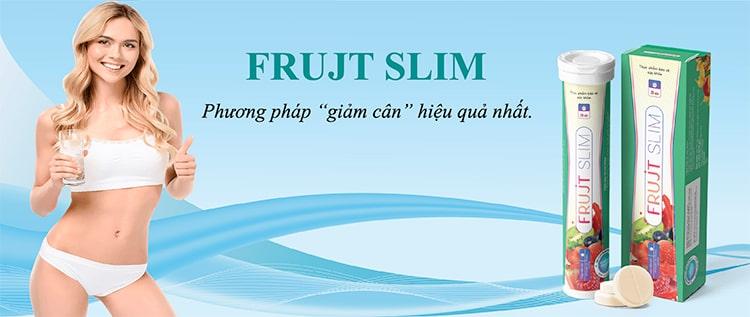 Frujt Slim viên sủi giảm cân