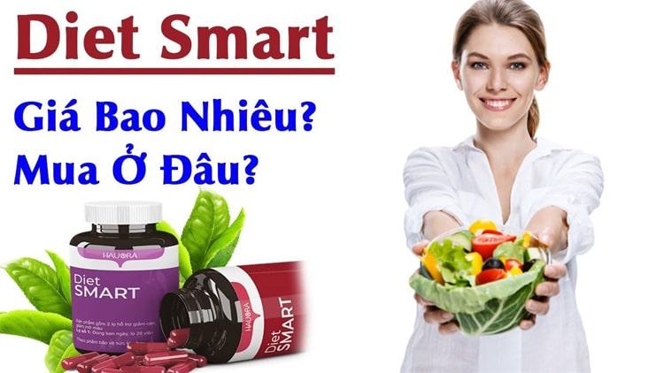Mua viên uống Diet Smart ở đâu