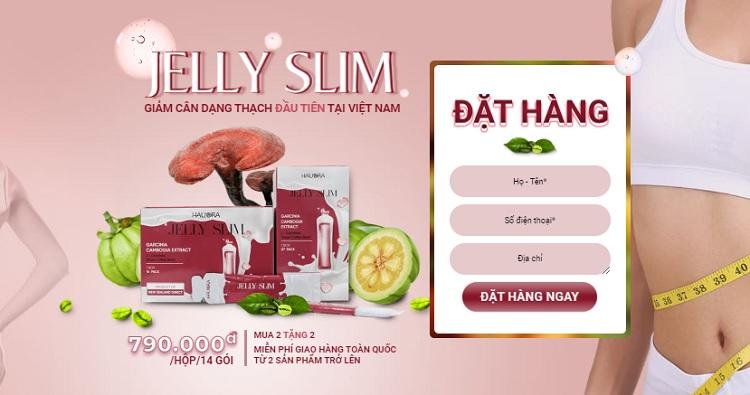 Thạch giảm cân Jelly Slim mua ở đâu