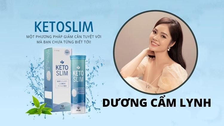 Dương Cẩm Linh review Keto Slim