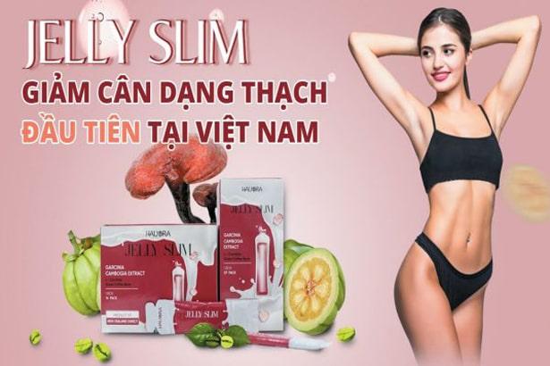 Sử dụng thạch giảm cân Jelly Slim