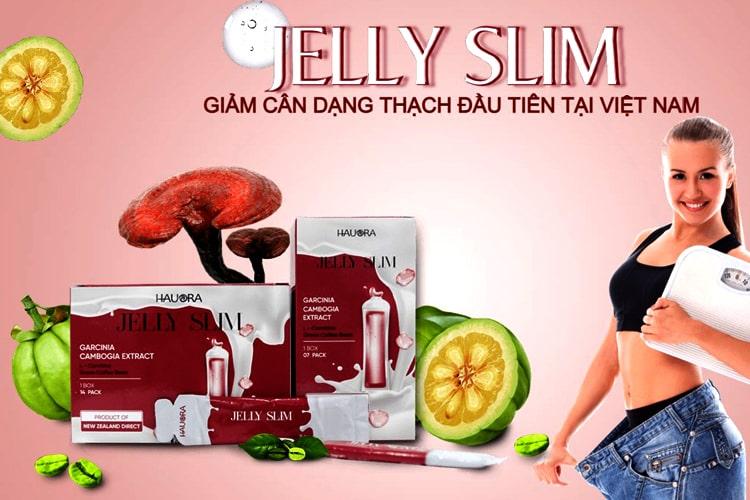 Thạch giảm cân Jelly Slim