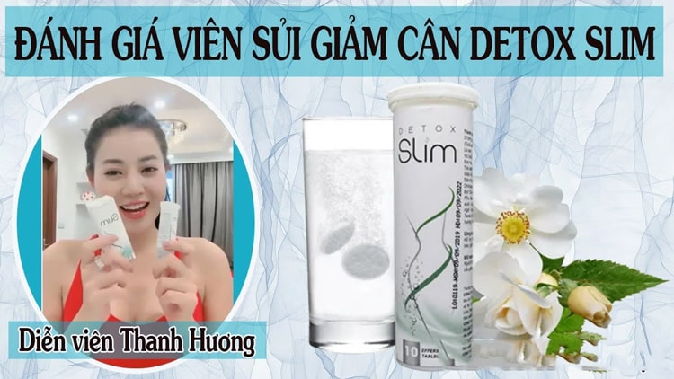 Diễn viên Thanh Hương review Detox Slim
