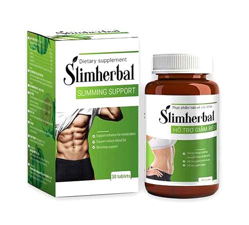 Viên uống hỗ trợ giảm cânSlimherbal