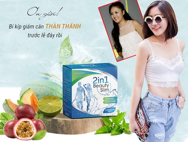 Viên sủi giảm cân Beauty Slim 2in1