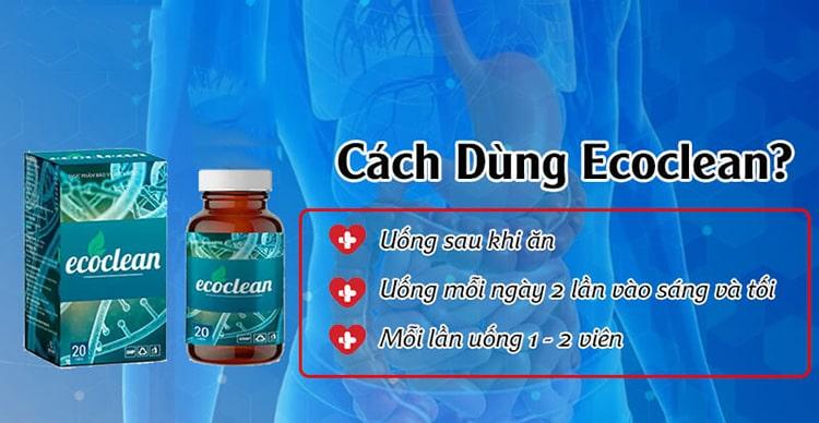 Cách sử dụng Ecoclean