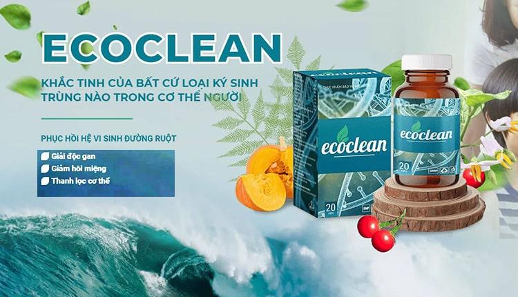Thuốc Ecoclean diệt ký sinh trùng